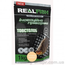 Прикормка RF Толстолоб-Топленое молоко 1кг(уп.10шт)