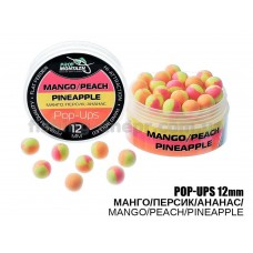 """POP UPS""""Манго/Персик/Ананас""""-""""Mango/Peach/Pineapple"""",(12мм)"""