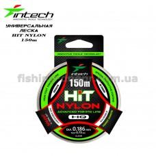 Леска Intech HIT 150m (0.186mm, 2.60kg) (уп.10шт)