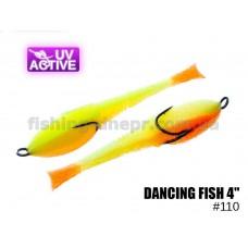 """Поролоновая рыбка 110 Dancing Fish 4""""  (уп.5шт)"""