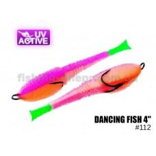 """Поролоновая рыбка 112 Dancing Fish 4""""  (уп.5шт)"""