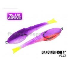 """Поролоновая рыбка 113 Dancing Fish 4""""  (уп.5шт)"""